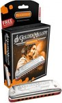 Губная гармошка диатоническая Hohner Golden Melody 542/20 A