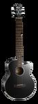 Электроакустическая бас-гитара Cort AB850F Black