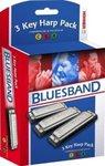 Набор губных гармошек Hohner Blues Band CGA