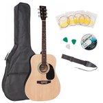 Акустическая гитара Encore EWP-100N с чехлом и ремнем в комплекте