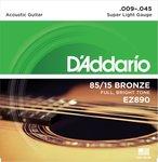 Струны для акустической гитары D'Addario EZ890 9-45