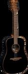 Акустическая гитара Lag GLA T118D BLK